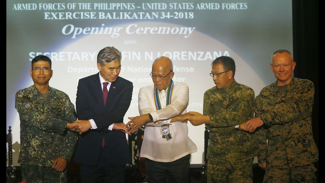 Balikatan starts amid tension  in South China Sea