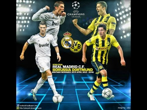 Real Madrid vs Borussia Dortmund Champions League Semi-Finals 30-04-13 Prediction Fifa 13