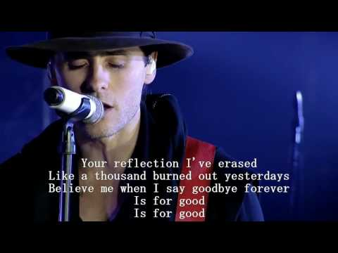 30 Seconds To Mars - Was It A Dream?  Acoustic  LYRICS