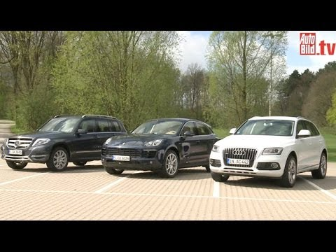 The new Porsche Macan vs. Audi Q5 vs. Mercedes GLK