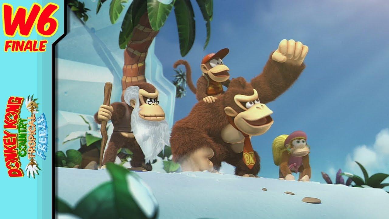 Donkey Kong Frozen Island