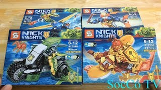 Đồ Chơi Lắp Ráp Lego Nexo Knights - Hiệp Sĩ Nexo Mới Nhất 2019