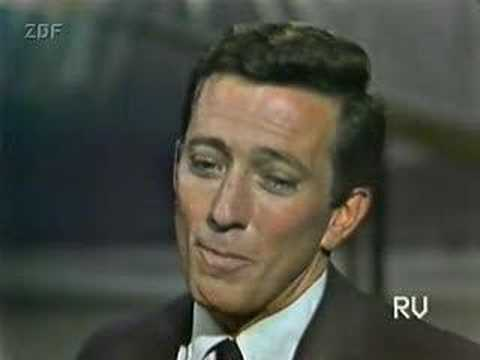 Andy Williams - Moon River 1960's performance