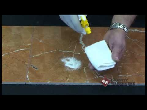 How To Remove An Acid Etch Stain From Your Marble Top Mb