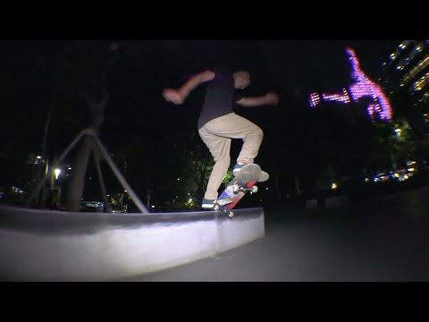 Skateboarding in Seoul, South Korea