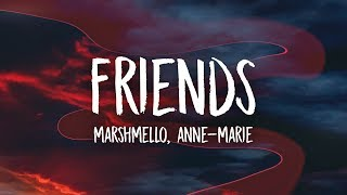 Download Lagu Marshmello & Anne-Marie - FRIENDS (Lyrics) Gratis STAFABAND