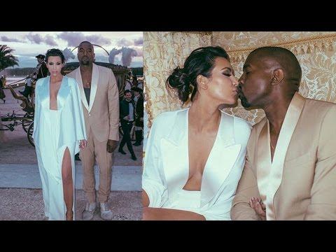 Kim Kardashian & Kanye West Wedding Photo's Revealed