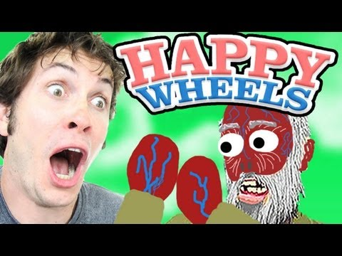 Inside Out Old Man! - Happy Wheels video