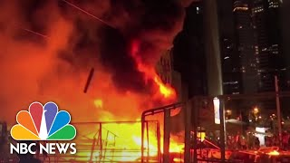 Hong Kong, China React To U.S. Protests Over Police Brutality | NBC News NOW