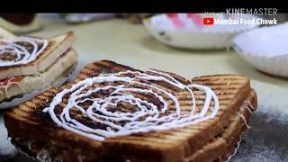 Dilkhush Veg Grilled Sandwich | Bipin Big Sandwich | BORIVALI (W), Mumbai  | Indian Street Food