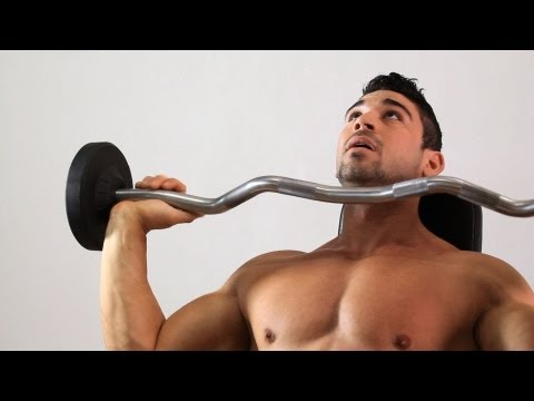 How to Do the Overhead Shoulder Press | Arm Workout Image 1