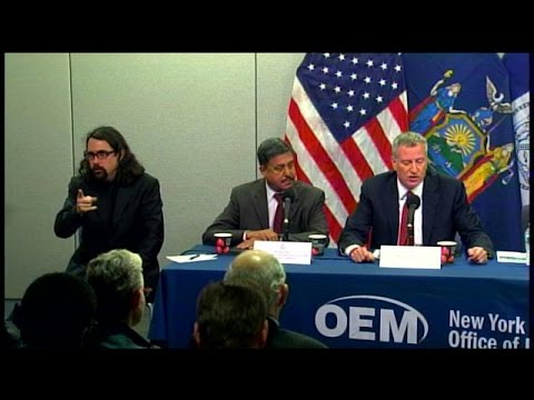 RAW VIDEO: Sign Language Interpreter Goes Viral During De Blasio Ebola Press Conference