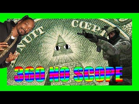 360 NO SCOPE M8!!!! MÓJ PIERWSZY RAZ W CS:GO - Montage Parody