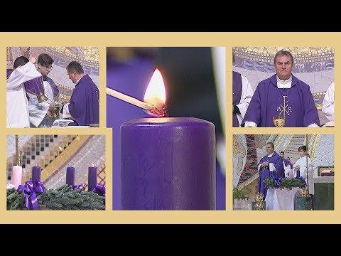 2019-12-01 vasárnapi szentmise a Gazdagréti Szent Angyalok Plébánián (Advent 1. vasárnapja)