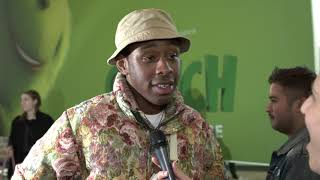 The Grinch World Premiere Tyler The Creator
