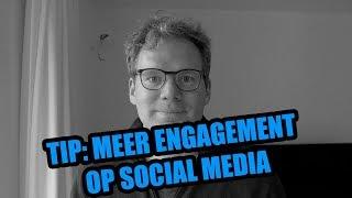 💯 - TIP - 70% meer Engagement op social media 😎