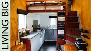 Two Years in a Modern, Off-Grid Tiny House