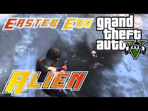 Easter egg - Alien congelado