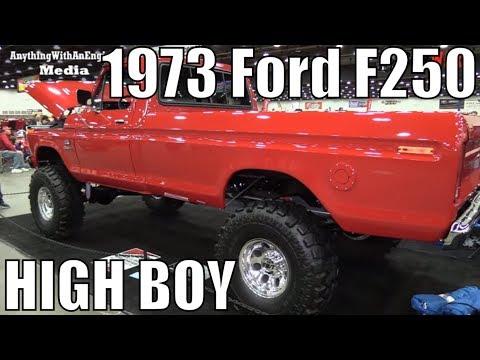 1973 Ford F250 High Boy At The 2018 Autorama Car Show