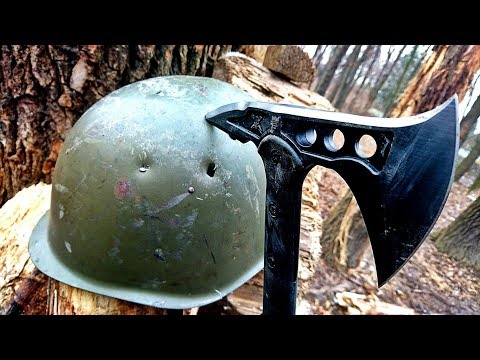 M48 Tactical Tomahawk VS Steel Army Helmet (All-Round Test)
