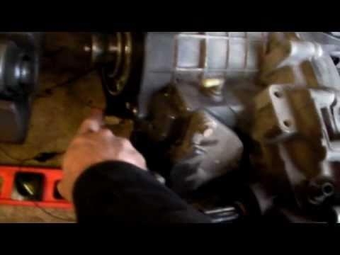 Oldsmobile Bravada  Chevrolet Blazer Transmission Removal Part 1