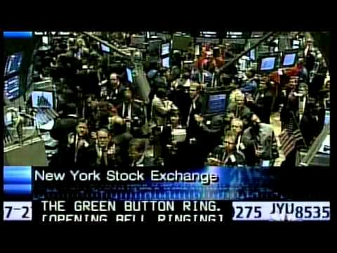 17 Sept 2001 NYSE Reopens Stock Market Tribute Video