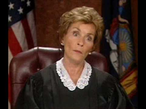 Judge Judy calls some Angry Black Ladies
