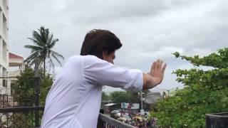 Shah Rukh Khan AND Abram Khan  Eid Mubarak!