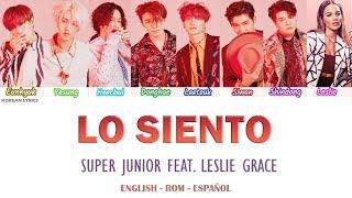 Download Lagu SUPER JUNIOR - LO SIENTO (Feat. Leslie Grace) Lyrics: Español - Rom- English Gratis STAFABAND