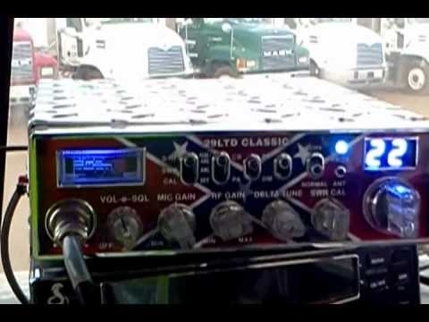 Custom CB Radio - Cobra 29 LTD Rebel Nitro Flash (new video, same radio)