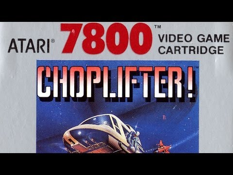 Classic Game Room HD - CHOPLIFTER! for Atari 7800 review