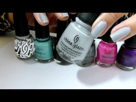 China Glaze Crackle Nail Polish Review and Demo
