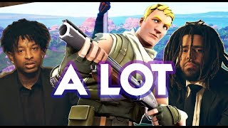 21 SAVAGE - A Lot ft J. Cole (Fortnite Parody)