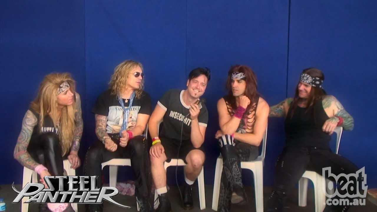 Steel Interview Steel Panther Interview