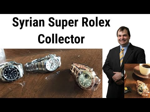 PAID WATCH REVIEWS - Syrian super Rolex collector