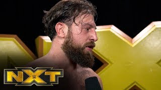 Drew Gulak reacts to losing NXT Cruiserweight Championship: NXT Exclusive, Oct. 9, 2019