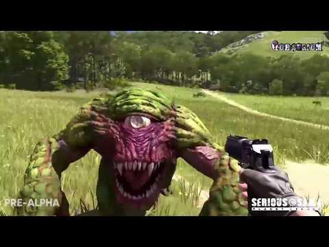 Serious Sam 4: Planet Badass - Первый большой геймплей (видео игрового процесса)