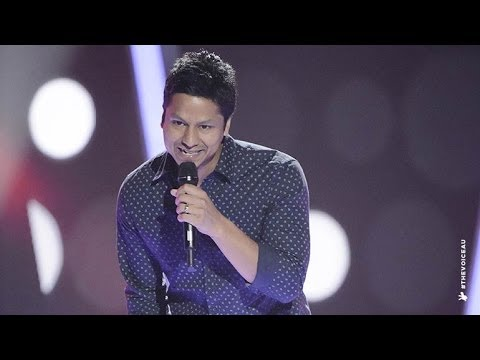 Julian Simonsz Sings Suit And Tie | The Voice Australia 2014 video