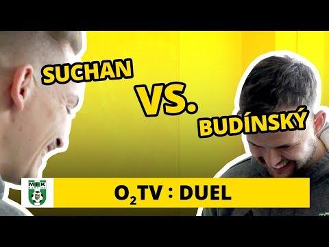 O2 TV Duel: Jan Suchan a Lukáš Budínský poznávají loga