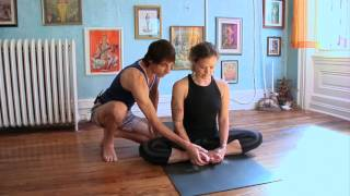 Baddha Konasana or Bound Angle pose: Asana Kitchen with David Garrigues