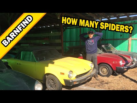 CRAZY FIAT 124 SPIDER BARNFIND! HAGERTY EDITION