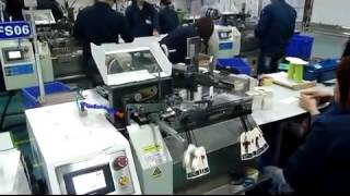 CMCC MAKINA - etikete ip baglama makinasi- high speed automatic tag stringing