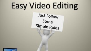 Easy Video Editing - This is Video Editing Training made Simple