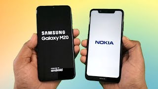Samsung M20 vs Nokia 5.1Plus SpeedTest Comparison