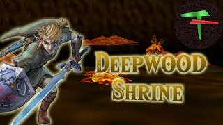 Playing the Deepwood Shrine in Ocarina of Time
