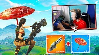 TFUE TEACHES US NEW GLIDER TRICK! SHOOT AND FLY! | Fortnite Funny Moments 216