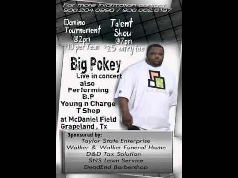 Big Pokey Drop: Grapeland Tx July 6th 2013