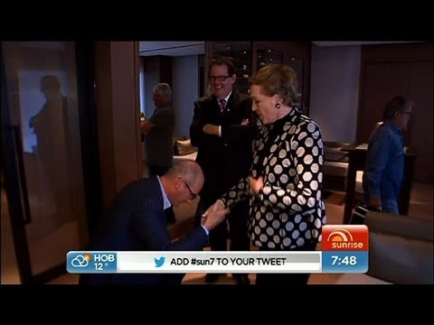 Kochie meets Julie Andrews