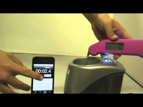 Thermapen Speed Test