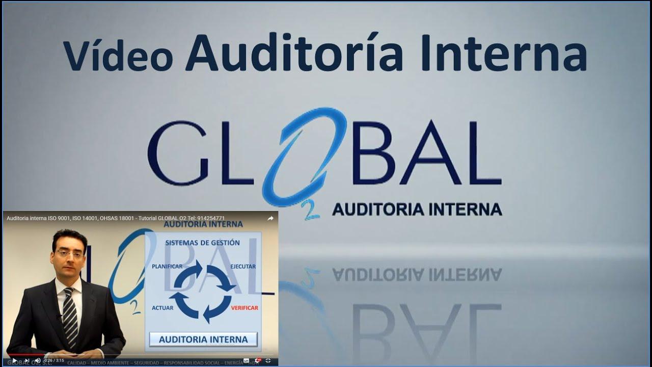 Plan de Auditoria Interna Auditoria Interna Iso 9001